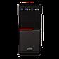 Корпус LP 2012-БЕЗ БП black case chassis cover с 2xUSB3.0+1xUSB2.0, фото 2