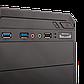 Корпус LP 2012-БЕЗ БП black case chassis cover с 2xUSB3.0+1xUSB2.0, фото 3