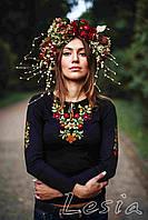 Жіноча вишиванка Золота осінь