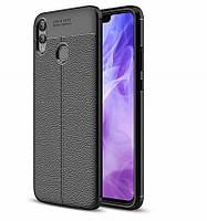TPU чехол iPaky Litchi Series для Huawei Honor Note 10