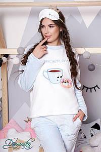"Махровая пижама ""Morning"" 81706 С #O/V"