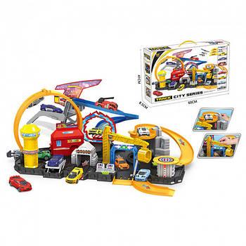 Дитячий ігровий набір з машинками Гараж, Паркінг P884-A Гарантія якості Швидка доставка