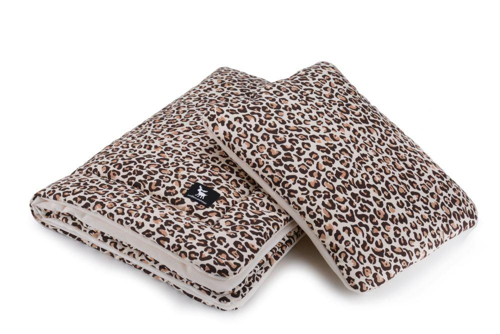 Плед с подушкой Cottonmoose Cotton Velvet 408/79/118 pantera cotton velvet cream леопардовый с кремовым