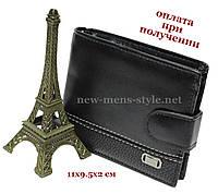 Чоловічий фірмовий шкіряний гаманець портмоне гаманець Devis HL комбі, фото 1