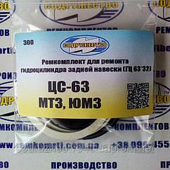 Ремкомплект гидроцилиндра ЦС-63 задней навески (ГЦ 63*32) трактор МТЗ / ЮМЗ