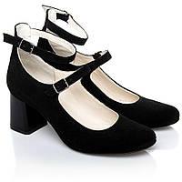 Туфли La Rose 2248 36(24см ) Черная замша