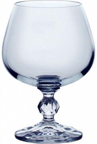 Набор бокалов для коньяка 250 мл 6 шт Claudia Bohemia 40149/250