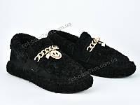 Слипоны женские Violeta 126-7 black (36-41) - купить оптом на 7км в одессе