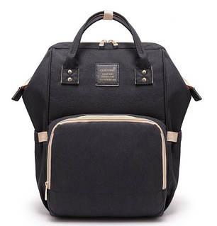 Сумка-рюкзак MomBag мультифункциональный органайзер Черный (nri-2040), фото 2