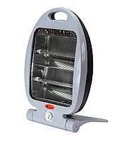 🔝 Обогреватель кварцевый инфракрасный Domotec MS-5952 800 W напольный для дома и в гараж, с доставкой | 🎁%🚚