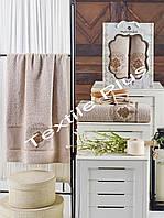 Махровые полотенца  2шт Merzuka Art, фото 1