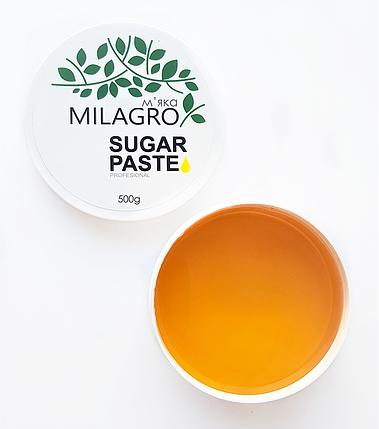 Сахарная паста для шугаринга Milagro Мягкая 500 г (nr1-376), фото 2