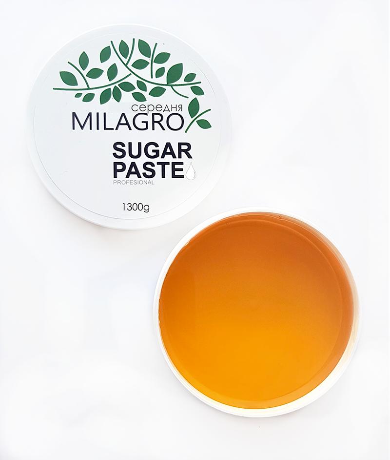 Сахарная паста для шугаринга Milagro Средней жесткости 1300 г (2d-371)