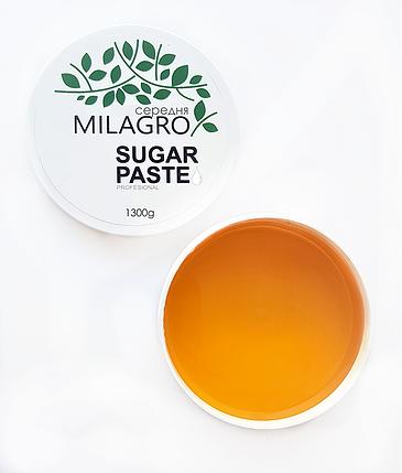 Сахарная паста для шугаринга Milagro Средней жесткости 1300 г (2d-371), фото 2