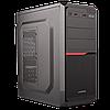 Корпус LP 2010-400W 8см black case chassis cover с 2xUSB2.0