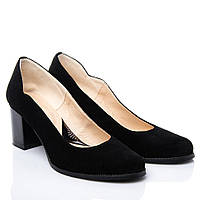 Туфли La Rose 2133 36(24см ) Черная замша