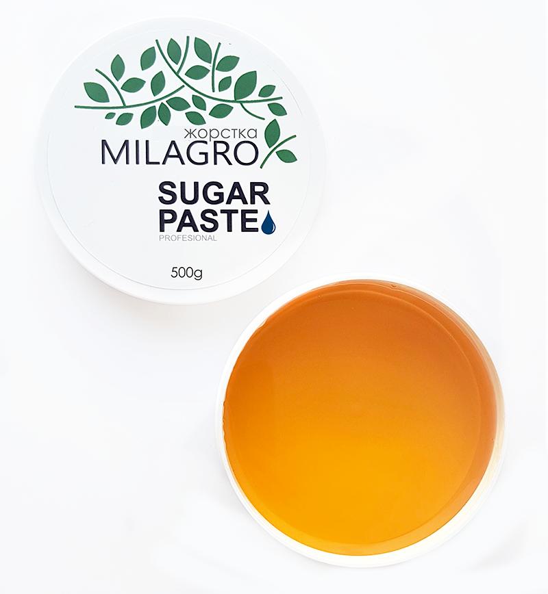 Сахарная паста для шугаринга Milagro Жесткая 500 г (2d-368)