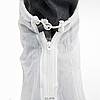 Бахилы для обуви от дождя снега грязи 2Life XL многоразовые с молнией и шнурком-утяжкой Белые (nr1-392), фото 3