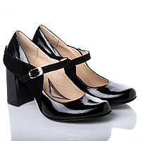 Туфли La Rose 2189 36(24см) Черный лак