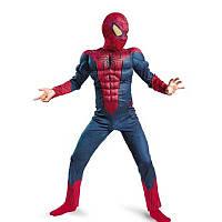 Костюм человека-паука с мускулами темный спайдермен костюм