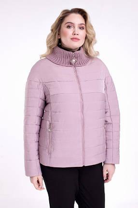 Элегантная Куртка женская   CR-723-GRY, фото 2