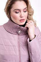Элегантная Куртка женская   CR-723-GRY, фото 3