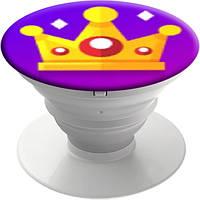 Попсокет Корона Likee от PopMobiStand Подставка Держатель для телефона