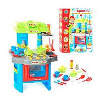 Игровой набор музыкальная кухня 008-26a с духовкой и посудкой