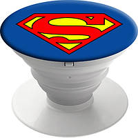Попсокет SuperMan от PopMobiStand Подставка Держатель для телефона