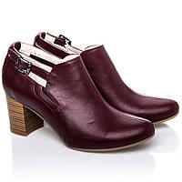Туфли La Rose 2239 37(24,6см ) Бордовая кожа
