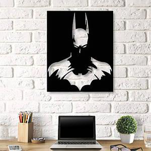 Картина из дерева Decart Batman 50x60 см B1001