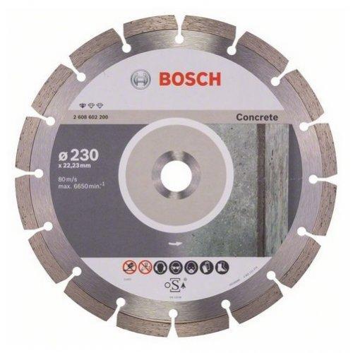 Диск відрізний сегментний Bosch по бетону Professional 180
