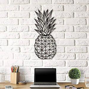 Картина из дерева Decart Pineapple  25x55 см P1001