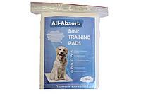 Пелюшки All-Absorb Basic для собак 56х58см, 10 шт