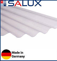 Прозрачный ПВХ лист Salux WHR 76/18 Прозрачная Волна 1,8х0,9, фото 1