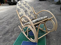Акция!!! Кресло-качалка из ротанга Олимп.