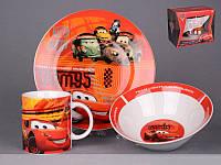 УЦЕНКА!!! Набор детской посуды Lefard Тачки 3 предмета 39-124