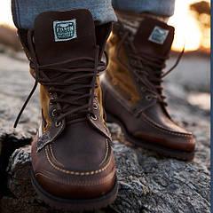 Ботинки детские кожаные зимние