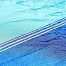 Гамак садовый с антимоскитной сеткой. Цветной подвесной гамак, Туристический гамак голубой с синим, фото 10