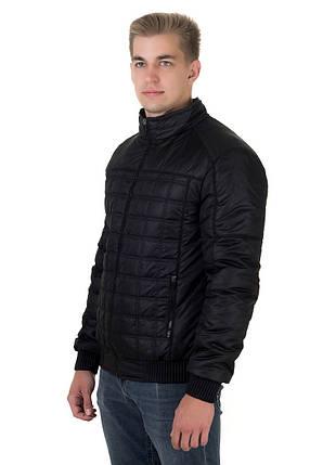 Куртка  мужская демисезонная Стежка черный (48-58), фото 2