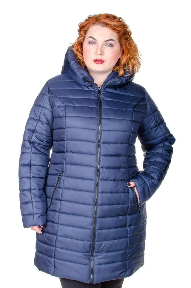 Куртка женская   зимняя Катрина синий