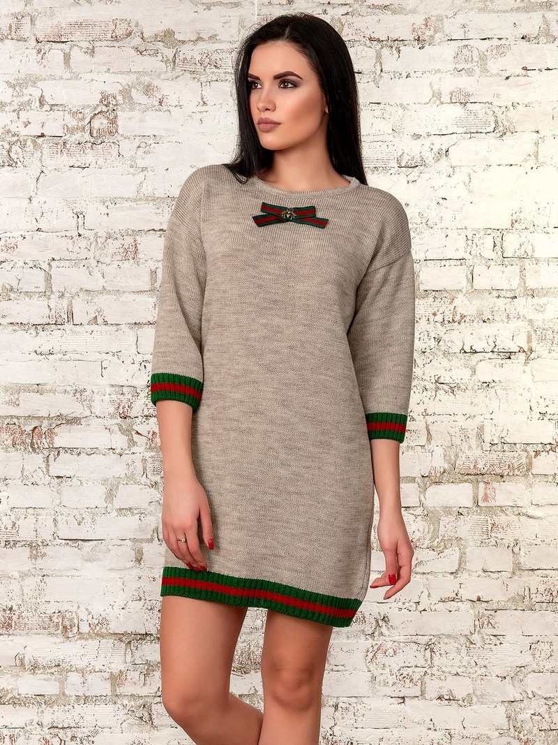 Платье женское  (бежевый) 70289
