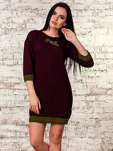 Платье женское  (бордовый) 70289