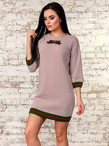 Платье женское  (светлая пудра) 70289