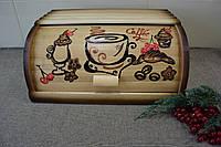 Хлібниця дерев'яна велика Хлебница деревянная большая Високої якості