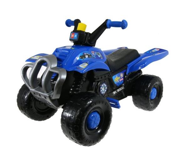 Детский квадроцикл на педалях 90 см