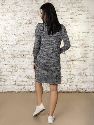 Платье женское 50303(Графит-Меланж), фото 2
