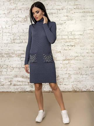 Платье женское 50303(Джинс), фото 2