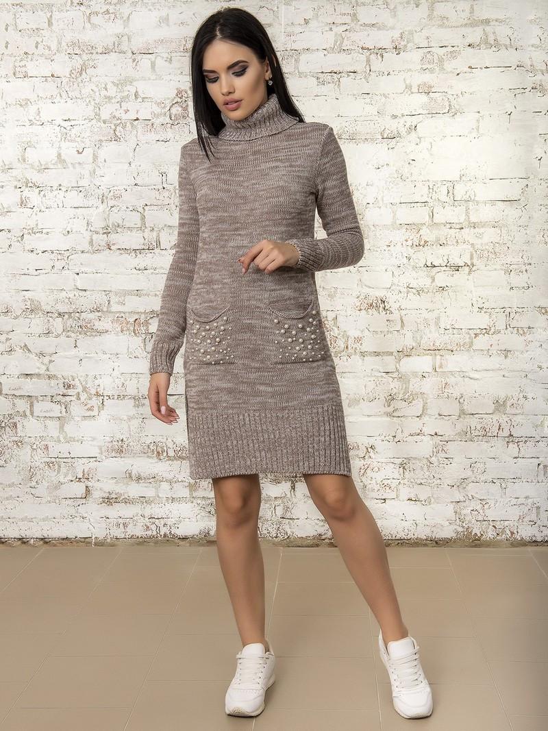 Сукня жіноча 50303(Мокко-Меланж)