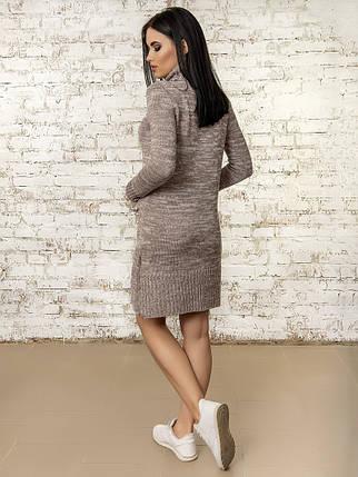 Сукня жіноча 50303(Мокко-Меланж), фото 2